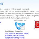regal assets trustlink review