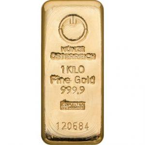 Austrian Mint gold bar 1k