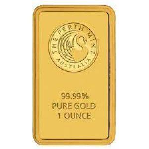perth 1oz gold bar