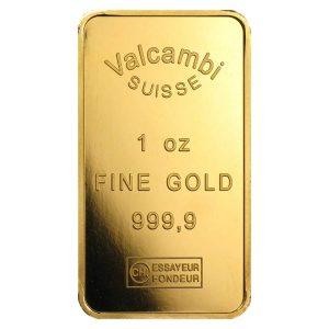 valcambi gold bar